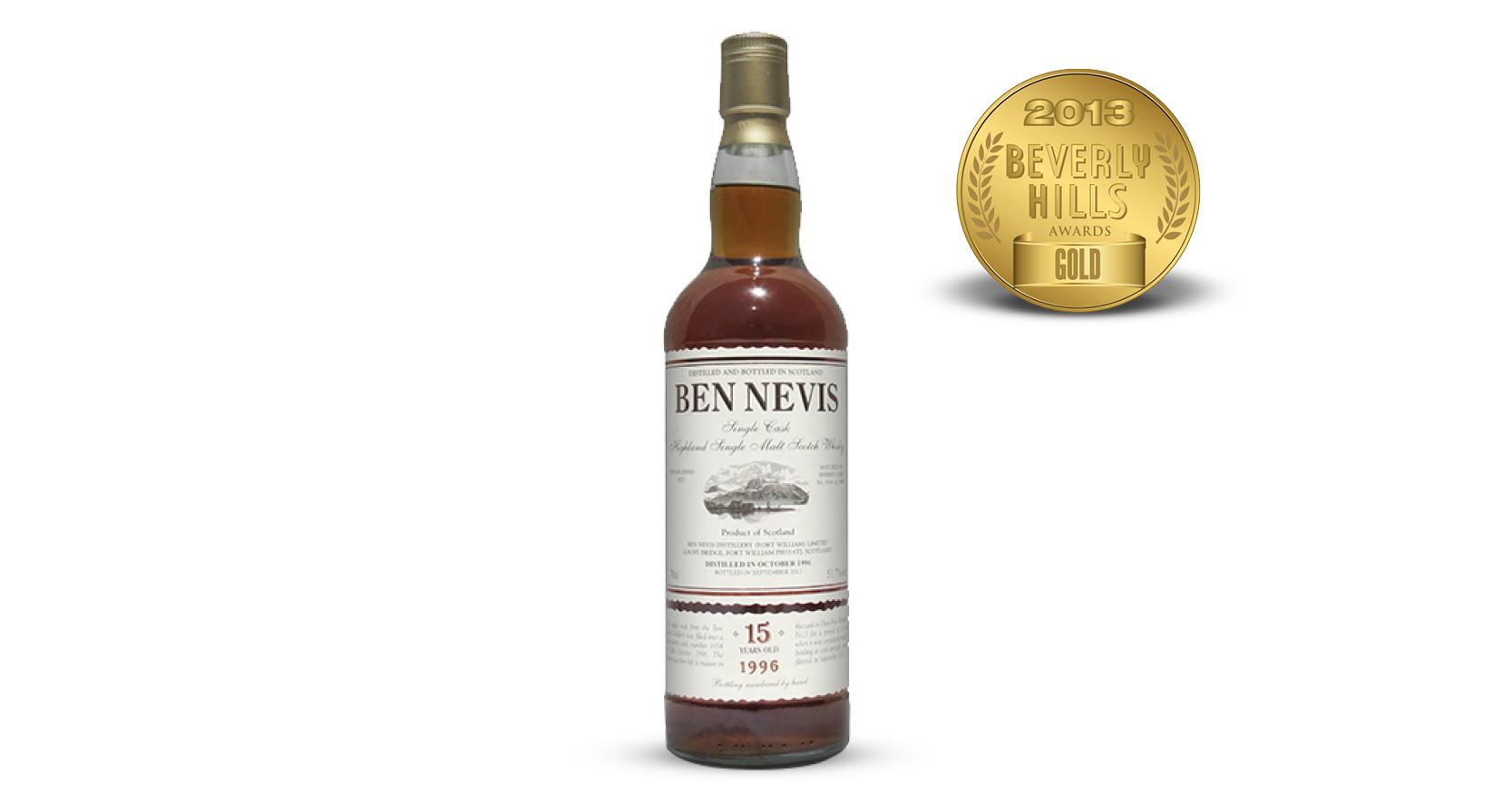 Ben Nevis 15 year Single Malt Scotch Whisky