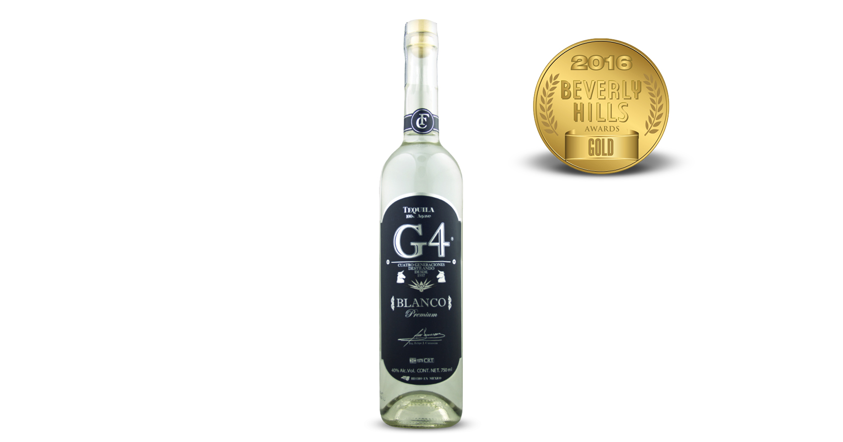 G4 Silver Tequila