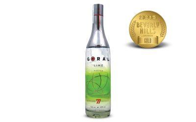 Goral Lime Flavored Vodka