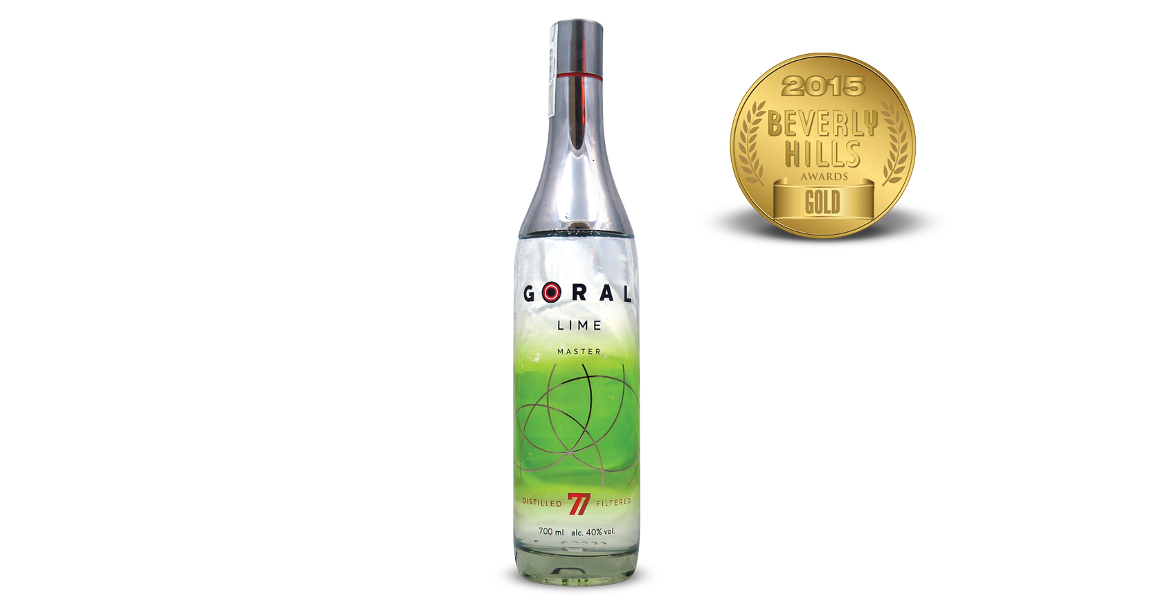 Goral Lime Flavored Vodka
