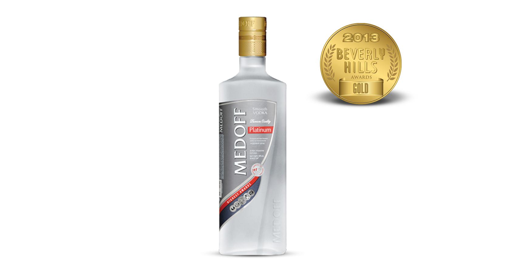 Medoff Platinum Vodka