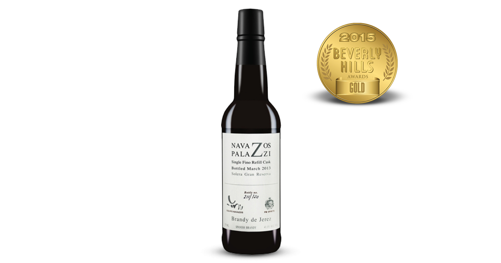 Navazos-Palazzi Jerez Brandy-Release #2 Single Fino Cask