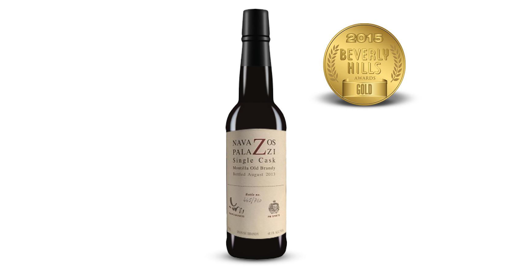 Navazos-Palazzi Jerez Brandy-Release 3 Old Montilla Single Cask