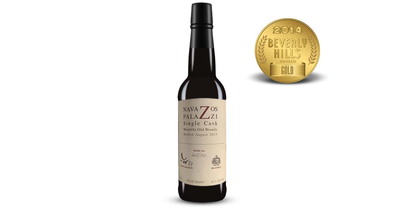 Navazos-Palazzi Jerez Brandy-Release #3 Old Montilla Single Cask