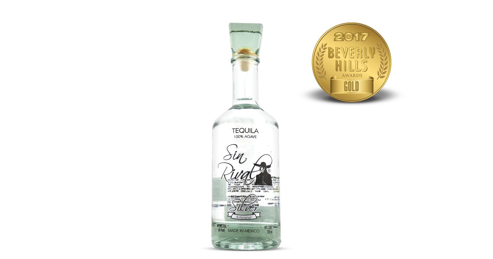 Sin Rival Silver Tequila