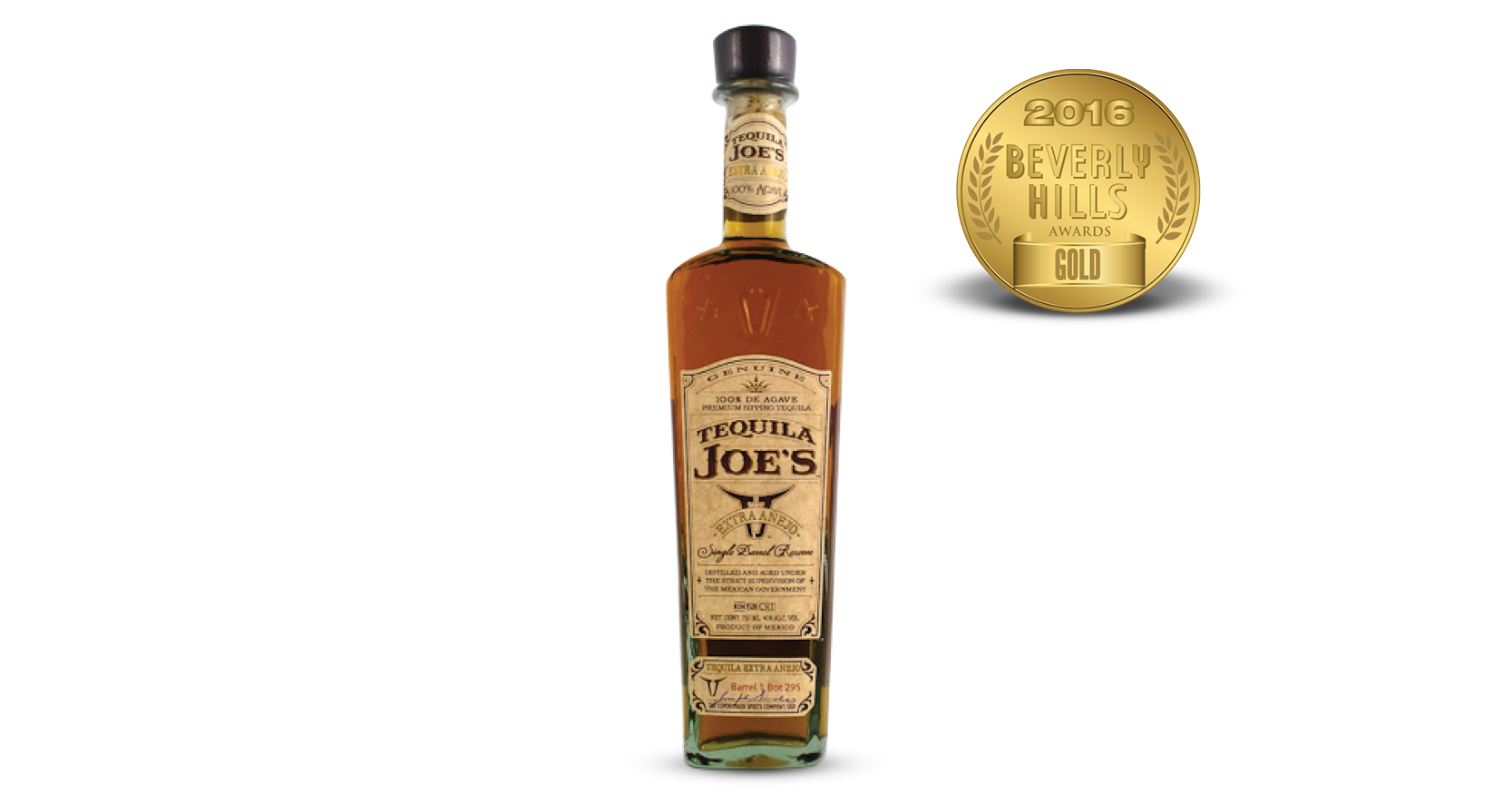 Tequila Joe's Extra Añejo Tequila