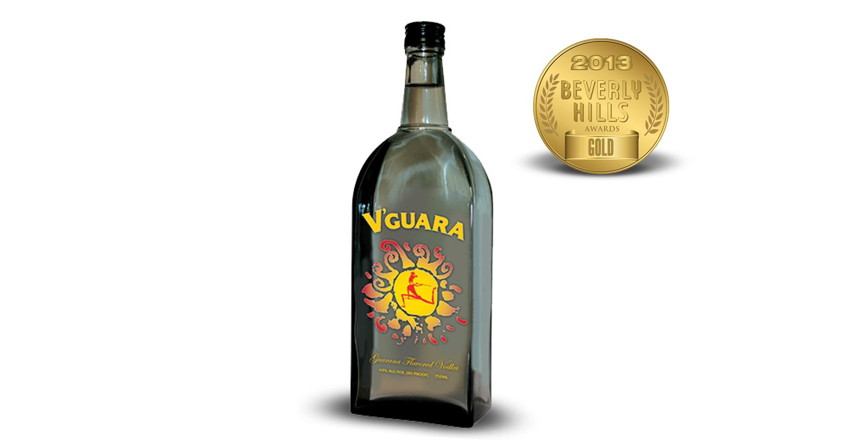 V'Guara Guarana Flavored Vodka