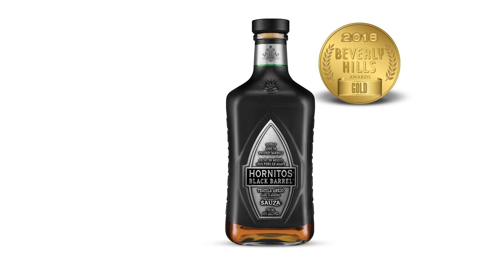 Hornitos Black Barrel Añejo Tequila
